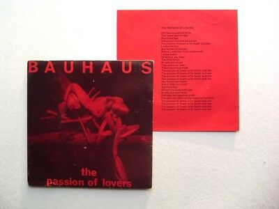"BAUHAUS - Passion of Lovers - 1981 Original 7"" Vinyl Single - Beggars Banquet"
