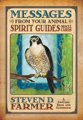 Messages From Your Animal Spirit Guides Cards by Steven Farmer 9781401919863