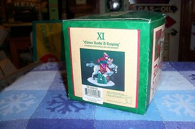Dept 56 Eleven 11  Lords A Leaping #58413 Dickens Village / Retired Nib