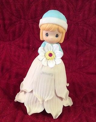 Precious Moments January Flower Girl Bell 2000