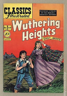 Classics Illustrated 059 Wuthering Heights (1949) #1 VG/FN 5.0