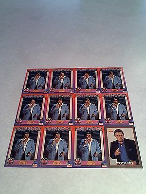 *****Mickey Gilley*****  Lot of 34 cards  3 DIFFERENT