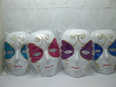 10 Face Mask Dress Up Masks Party Favor Mixed