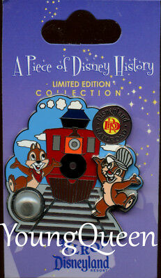 DLR A Piece of Disney History I Disneyland Railroad Chip & Dale Le Pin