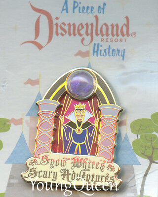 DLR Piece of Disney History Snow White's Scary Adventure Evil Queen Le Pin