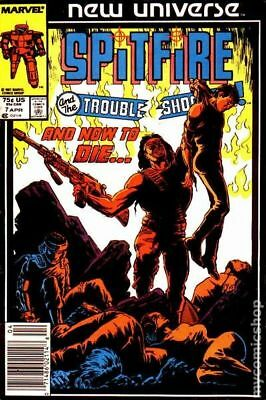 Spitfire and the Troubleshooters (1986) #7 VG LOW GRADE