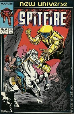 Spitfire and the Troubleshooters (1986) #9 VG LOW GRADE