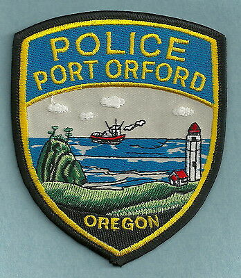 Port Orford Oregon Police Patch