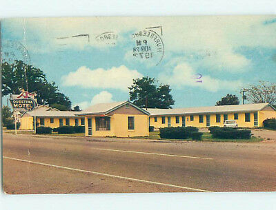 Damaged Pre-1980 GUESTINA MOTEL Blaine Tennessee TN M5483