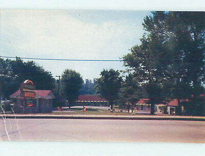 Damaged Pre-1980 DELROSE MOTEL Knoxville Tennessee TN M5053