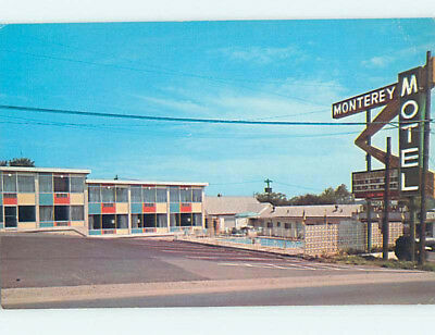 Damaged Pre-1980 MONTEREY MOTEL Nashville Tennessee TN M5336