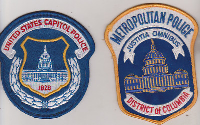 United States Capitol Police & Metropolitan Police Department patches