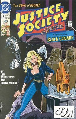 Justice Society of America (1991 1st Series) #2 FN