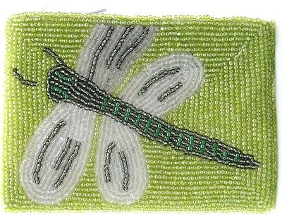 Dragonfly Beaded Purse Beaded Ladies Cross Body Coin Purse