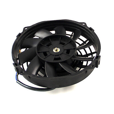 "8"" Reversable 12V 'S' Blade Radiator Electric Thermo Fan"