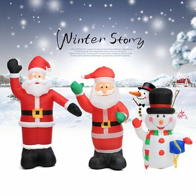 2.4M Large Inflatable Santa Father Outdoor Airblown Xmas Christmas Decoration