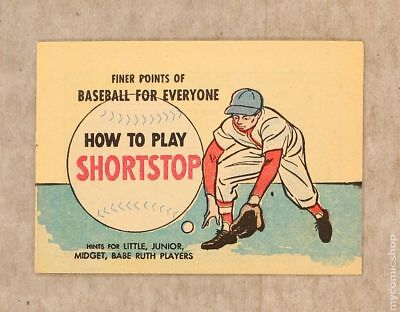 Finer Points of Baseball For Everyone: How to Play Shortstop #1964 VF/NM 9.0
