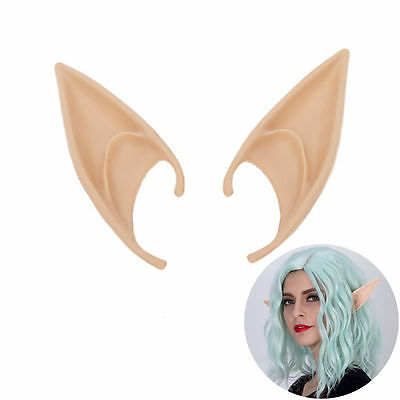 New Cosplay Fairy Pixie Elf Ears Soft Pointed Ears Tip Anime Party Dress Costume