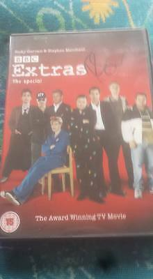 Ricky Gervais Hand Signed Dvd Extras The Special Series ( Humanity )