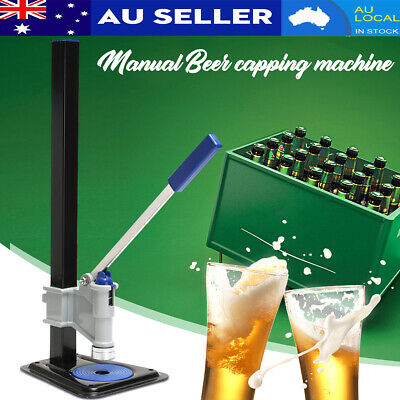 AU Manual Table Lever Bench Capper Capping Bottler Tool Home Brew Beer Bottle