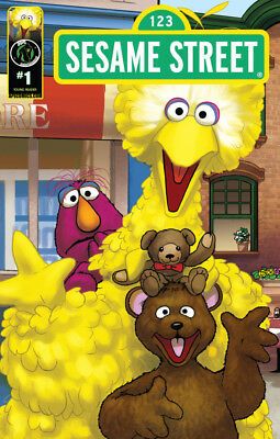 SESAME STREET #1 - Cover A - New Bagged
