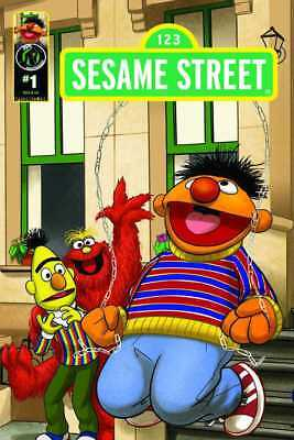 SESAME STREET #1 - Cover D - New Bagged