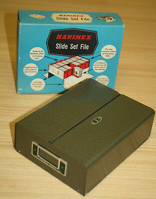 Hanimex Slide Set File In Box