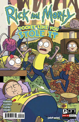 RICK AND MORTY Pocket like you Stole it (2017) #2 - Cover A - New Bagged