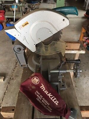 MAKITA Mitre Drop Saw 255mm 240V 1380W Model 2400B - VERY GOOD USED CONDITION