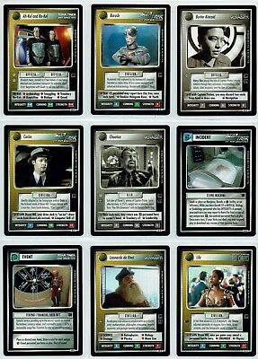 Star Trek Ccg Holodeck Complete Set Of 20 Rare Cards
