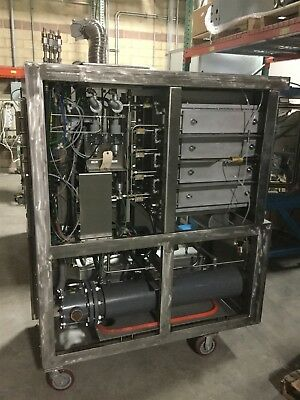 Stainless Steel Oil Heated Vacuum Oven w/Inert Gas Purged, PID and Fixed Shelves