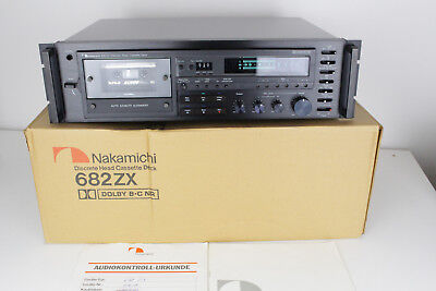Nakamichi 682ZX High-End Tapedeck Kassettendeck  **serviced & mint** OVP boxed