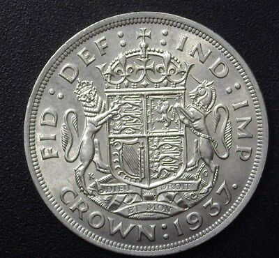 Great Britain 1937 Silver Crown  Choice Uncirculated