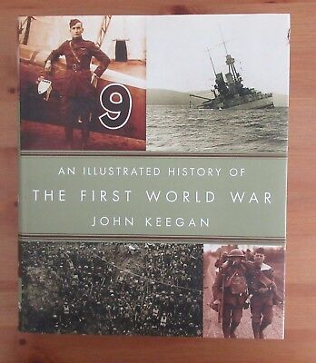 big WW1 PHOTO BOOK john keegan hardcover