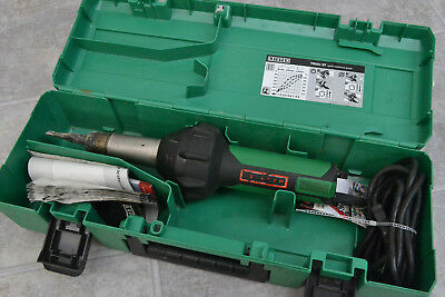 Leister Triac ST Hot Air Welder Gun in Carrying Case