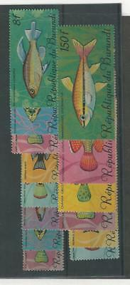 Burundi, Postage Stamp, #186//201 Mint NH (14 Different), 1967 Fish (p)