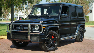 """2015 Mercedes-Benz G-Class G63 AMG 20"""" BLK WHEELS NAV BACKUP CAM REAR DVD!!!! ONLY 17,572 MILES $149,075 MSRP ALMOST EVERY OPTION AVAILABLE 1-OWNER CLEAN!!!!"""