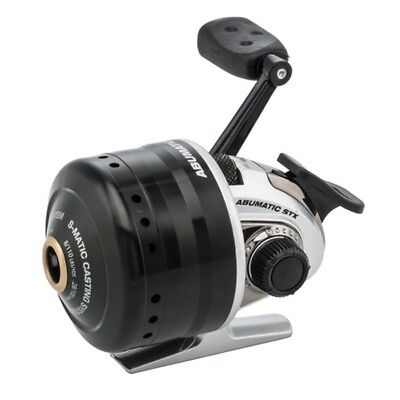 Abu Garcia ABUMSTX10-C Abumatic STX Spincast Reel 3.6:1 Ratio 8 lb Drag Right