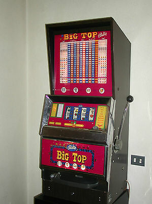 Slotmachine BALLY BIG TOP - Made in USA - Anni'40/'50 PERFETTA!