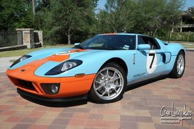 2006 Ford Ford GT Base Coupe 2-Door Ford GT Heritage Edition 241 Miles Loaded Leather V8 Supercharged