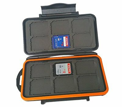 BoneView Weather-Resistant Storage Case for Trail Camera SD Memory Cards New