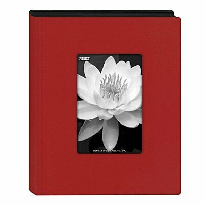 "Pioneer Photo Albums Mini Frame Cover Photo Album, Holds 24 Photos, Red, 4"" x 6"""