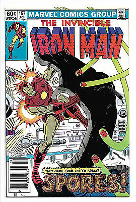 Iron Man #157 1981 Marvel Comics