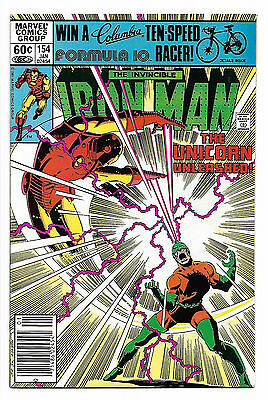 Iron Man #154 1981 Marvel Comics Unicorn