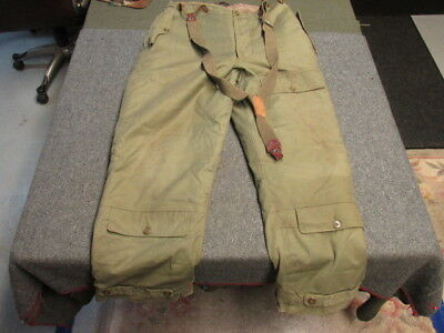 Wwii Us Army Air Force Type A-10 Flying Trousers-Nice Condition