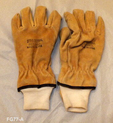 Shelby Structural Firefighters Gloves Size Large (FG-77)