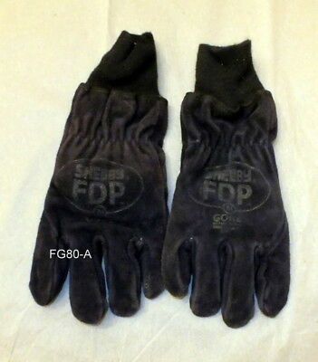 Shelby FDP Structural Firefighters Gloves Size Medium (FG-80)