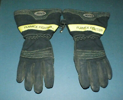 CHIBA Flamex Firefighters Gloves Model 61203 Size Small (FG-72)