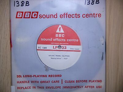 """BBC Sound Effects 7"""" Record - Boat - Clipper, Trade Winds, Roaring Forties"""