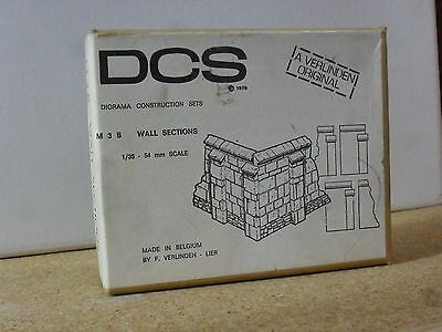 Dcs Verlinden M3B Wall Sections 1/35 Diorama